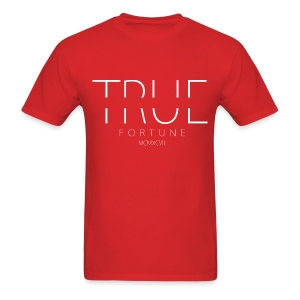 Men's True Fortune Tee - Red - Men's T-Shirt