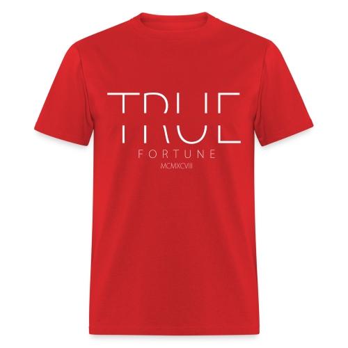 Men's True Fortune Tee - Red - Men's T-Shirt