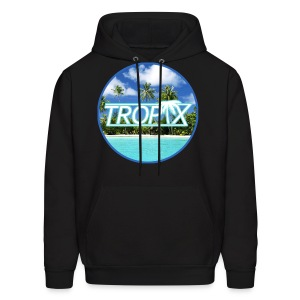 Tropix Jersey SweatShirt with Tropix Logo on Front (Various Colors) - Men's Hoodie