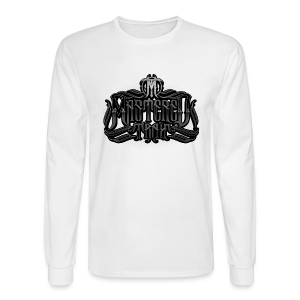 Mastered Trax Long Sleeve Tee - White - Men's Long Sleeve T-Shirt