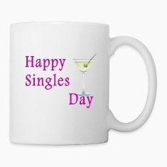Coffee/Tea Mug  Happy SIngles Day