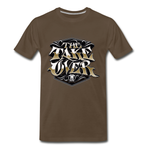 The Take Over Tee - Brown - Men's Premium T-Shirt