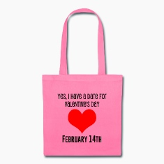 Canvas Tote Bag   Valentine's Date