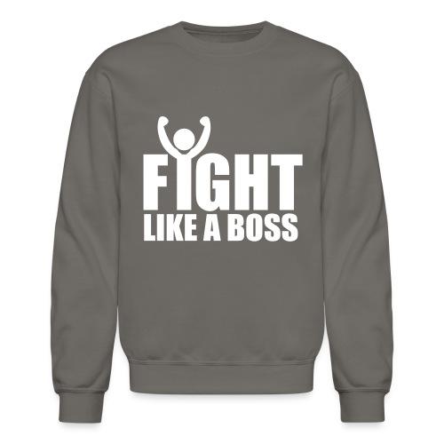 LIVE LIKE A LION, NOT A SHEEP- FIGHT LIKE A BOSS SWEATER - Crewneck Sweatshirt