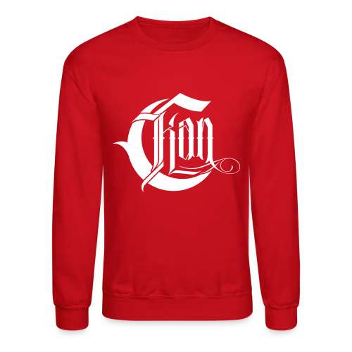 C-Kan Sweatshirt - Red - Crewneck Sweatshirt
