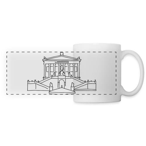 Alte Nationalgalerie Berlin - Panoramic Mug