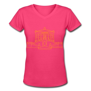 Alte Nationalgalerie Berlin - Women's V-Neck T-Shirt