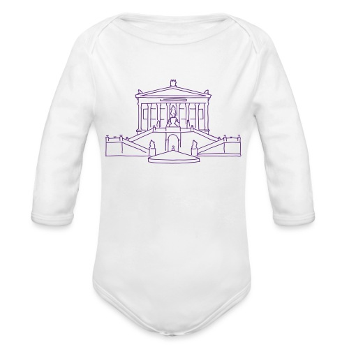 Alte Nationalgalerie Berlin - Organic Long Sleeve Baby Bodysuit