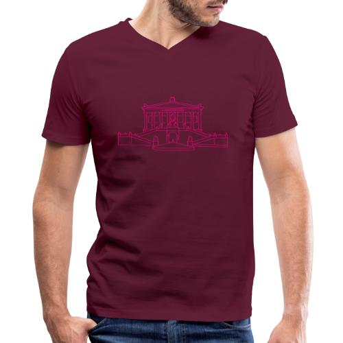 Alte Nationalgalerie Berlin - Men's V-Neck T-Shirt by Canvas