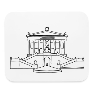 Alte Nationalgalerie Berlin - Mouse pad Horizontal