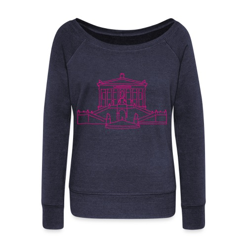 Alte Nationalgalerie Berlin - Women's Wideneck Sweatshirt