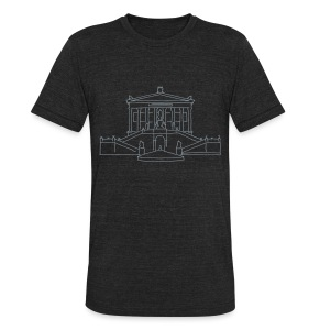 Alte Nationalgalerie Berlin - Unisex Tri-Blend T-Shirt by American Apparel