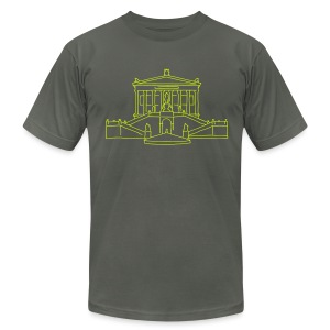 Alte Nationalgalerie Berlin - Men's T-Shirt by American Apparel