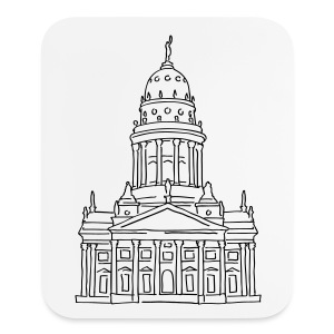 French Cathedral Berlin - Mouse pad Vertical