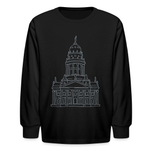 French Cathedral Berlin - Kids' Long Sleeve T-Shirt