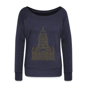 French Cathedral Berlin - Women's Wideneck Sweatshirt