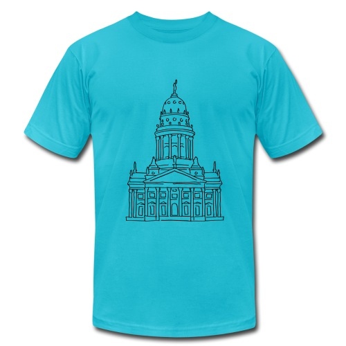 French Cathedral Berlin - Men's  Jersey T-Shirt
