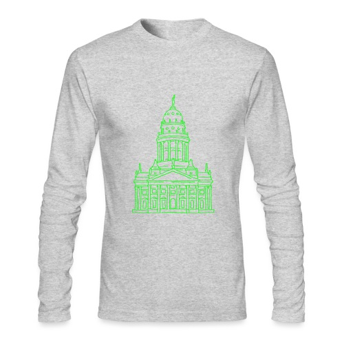 French Cathedral Berlin - Men's Long Sleeve T-Shirt by Next Level