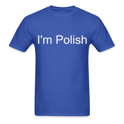 I'm Polish T-shirt - Jakub Special  - Men's T-Shirt