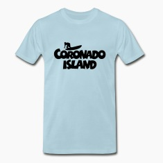 Coronado Island Surf Design for Californian Surfer T-Shirts