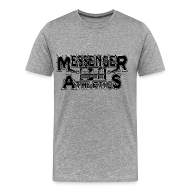 T-Shirts ~ Men's Premium T-Shirt ~ Messenger 841 Athletics Logo Tee