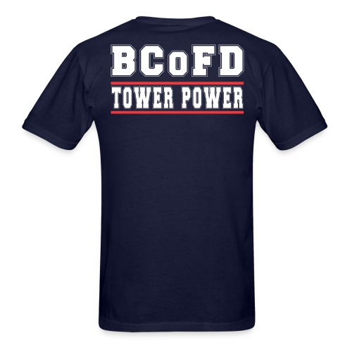 BCoFD 17 Tower Power - Men's T-Shirt