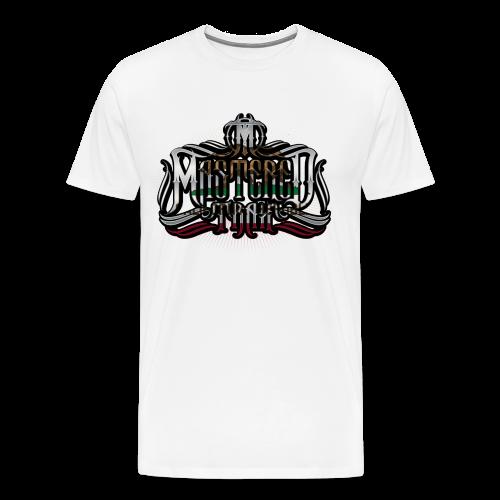Mastered Trax Cali Tee - White - Men's Premium T-Shirt