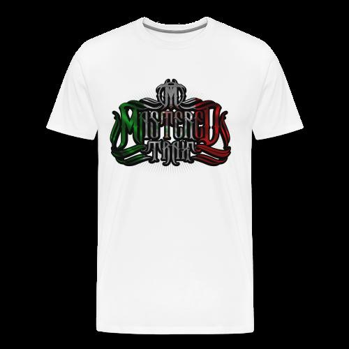 Mastered Trax (Mexico) Tee - White - Men's Premium T-Shirt