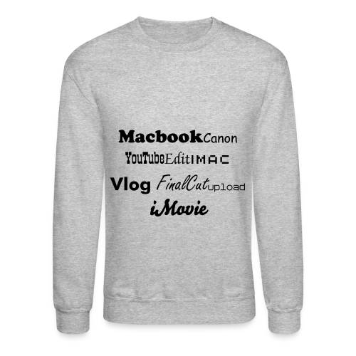 Crewneck Sweatshirt - If you would like this design on a t-shirt, tank, etc. Please let us know!