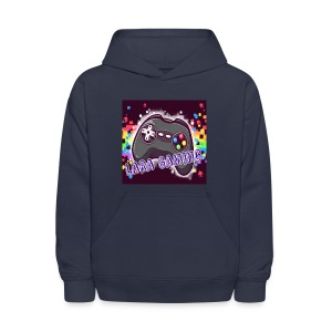 Navy Blue Sweater With Logo  - Kids' Hoodie