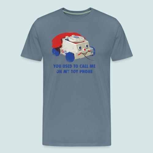 Toy Phone Bling - Men's Premium T-Shirt