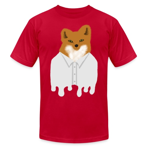 Fancy Fox - Men's Fine Jersey T-Shirt