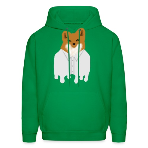 Fancy Fox - Men's Hoodie