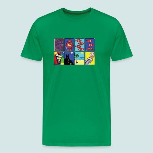 Win95 Solitaire Decks - Men's Premium T-Shirt