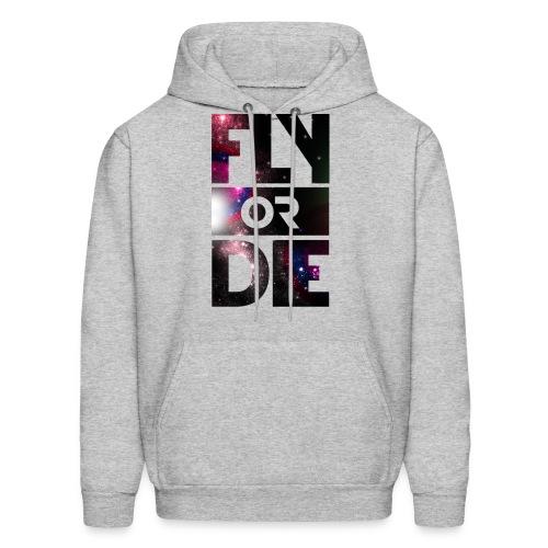 fly or die hoodie - Men's Hoodie