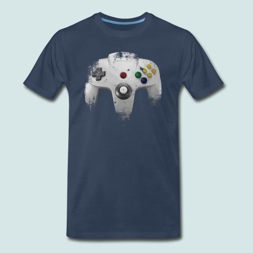 N64 Controller - Men's Premium T-Shirt