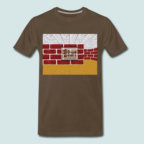 Win95 Maze ScreenSaver - Men's Premium T-Shirt