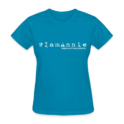 Women's Annie Hashtag - Women's T-Shirt
