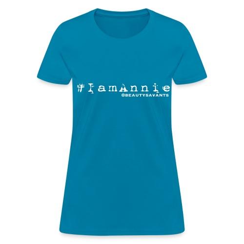 Women's Annie Hashtag - Women's T-Shirt