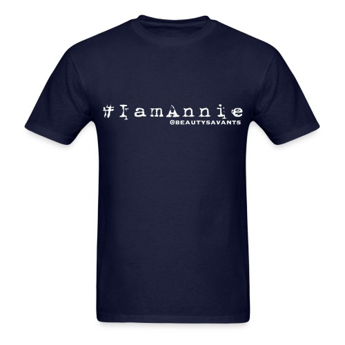 Men's Annie hashtag - Men's T-Shirt