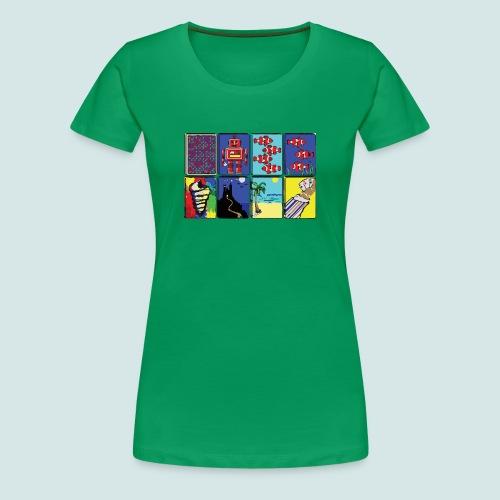 Win95 Solitaire Decks - Women's Premium T-Shirt