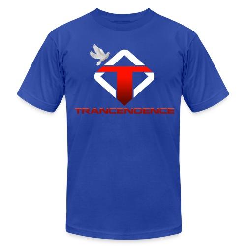 T-Blue Men (Slim Fit   Event) - Men's Fine Jersey T-Shirt