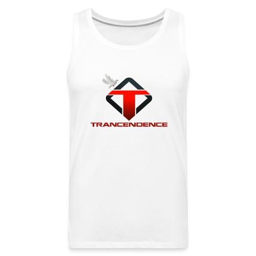 T-White Men (Premium Tank Top) - Men's Premium Tank