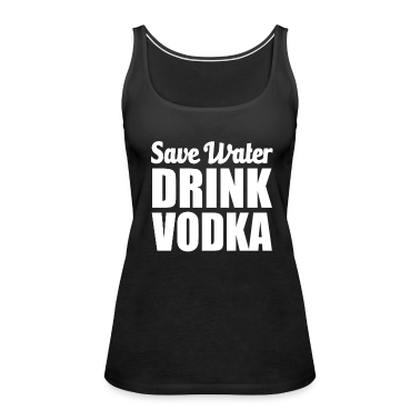 how to drink vodka with water