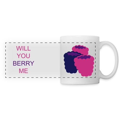 Will You Berry Me? - Panoramic Mug