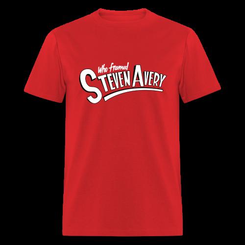 Who Framed Steven Avery - Men's T-Shirt