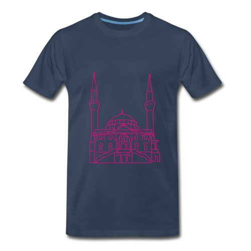 Sehitlik Mosque Berlin - Men's Premium T-Shirt
