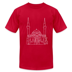 Sehitlik Mosque Berlin - Men's Fine Jersey T-Shirt