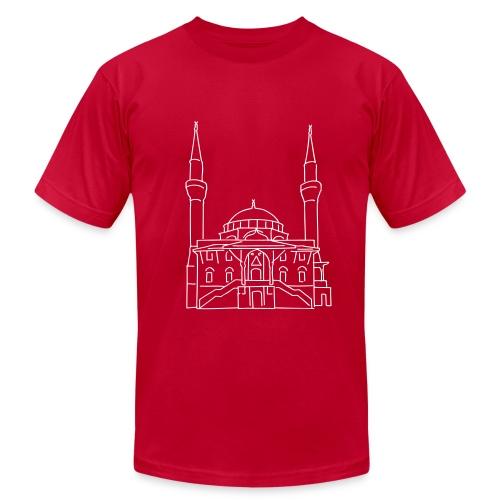Sehitlik Mosque Berlin - Men's Fine Jersey T-Shirt