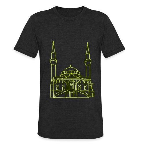 Sehitlik Mosque Berlin - Unisex Tri-Blend T-Shirt